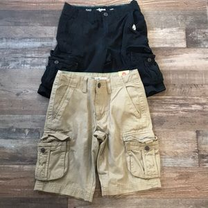 Other - 2- Pairs if Boy 8 Urban Pipeline cargo shorts NWT